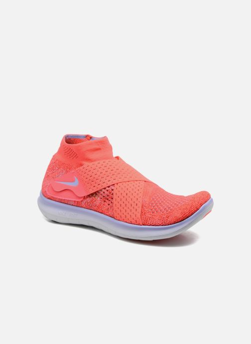 Chaussures de sport Nike W Nike Free Rn Motion Fk 2017 Rouge vue détail/paire