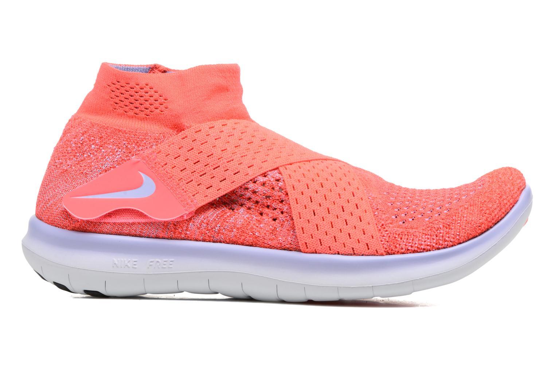 Chaussures de sport Nike W Nike Free Rn Motion Fk 2017 Rouge vue derrière