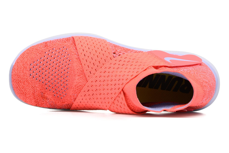 Chaussures de sport Nike W Nike Free Rn Motion Fk 2017 Rouge vue gauche