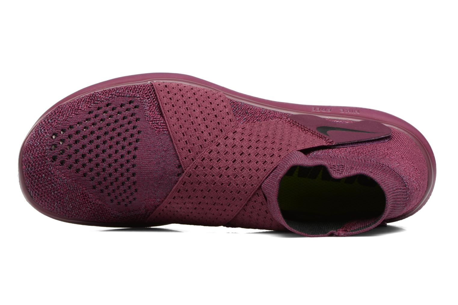 Sport shoes Nike W Nike Free Rn Motion Fk 2017 Purple view from the left