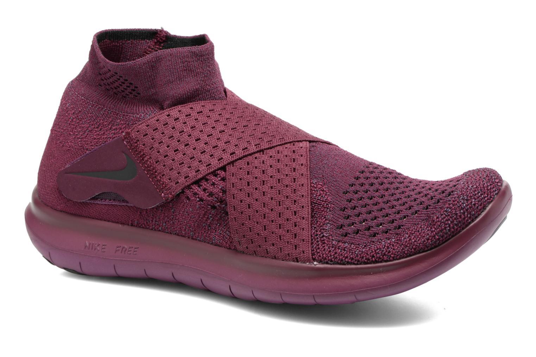Sport shoes Nike W Nike Free Rn Motion Fk 2017 Purple detailed view/ Pair view