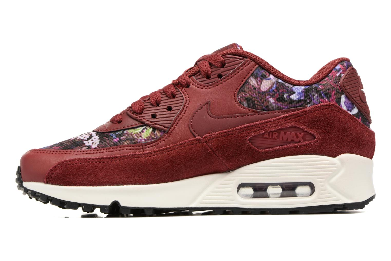 Sneakers Nike Wmns Air Max 90 Se Bordeaux voorkant