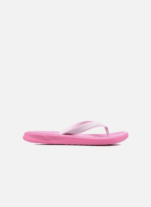 Flip flops Nike Nike Solay Pink back view