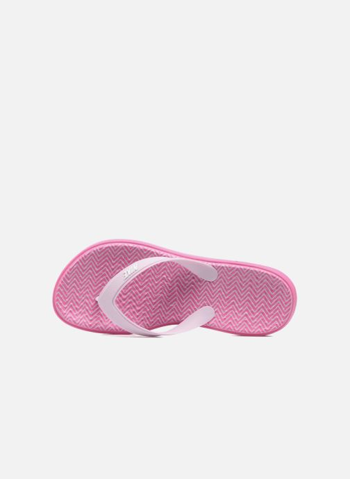 Flip flops Nike Nike Solay Pink view from the left