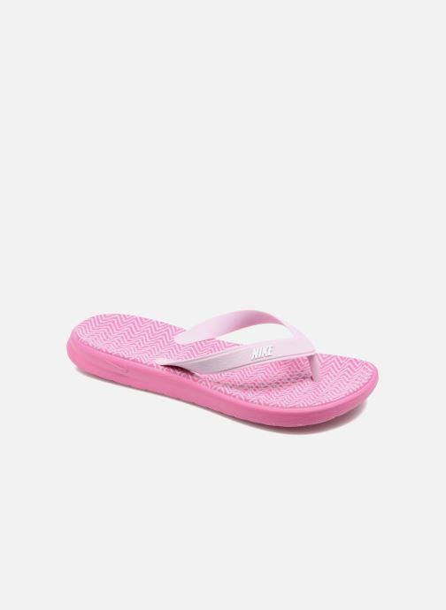 Flip flops Nike Nike Solay Pink detailed view/ Pair view