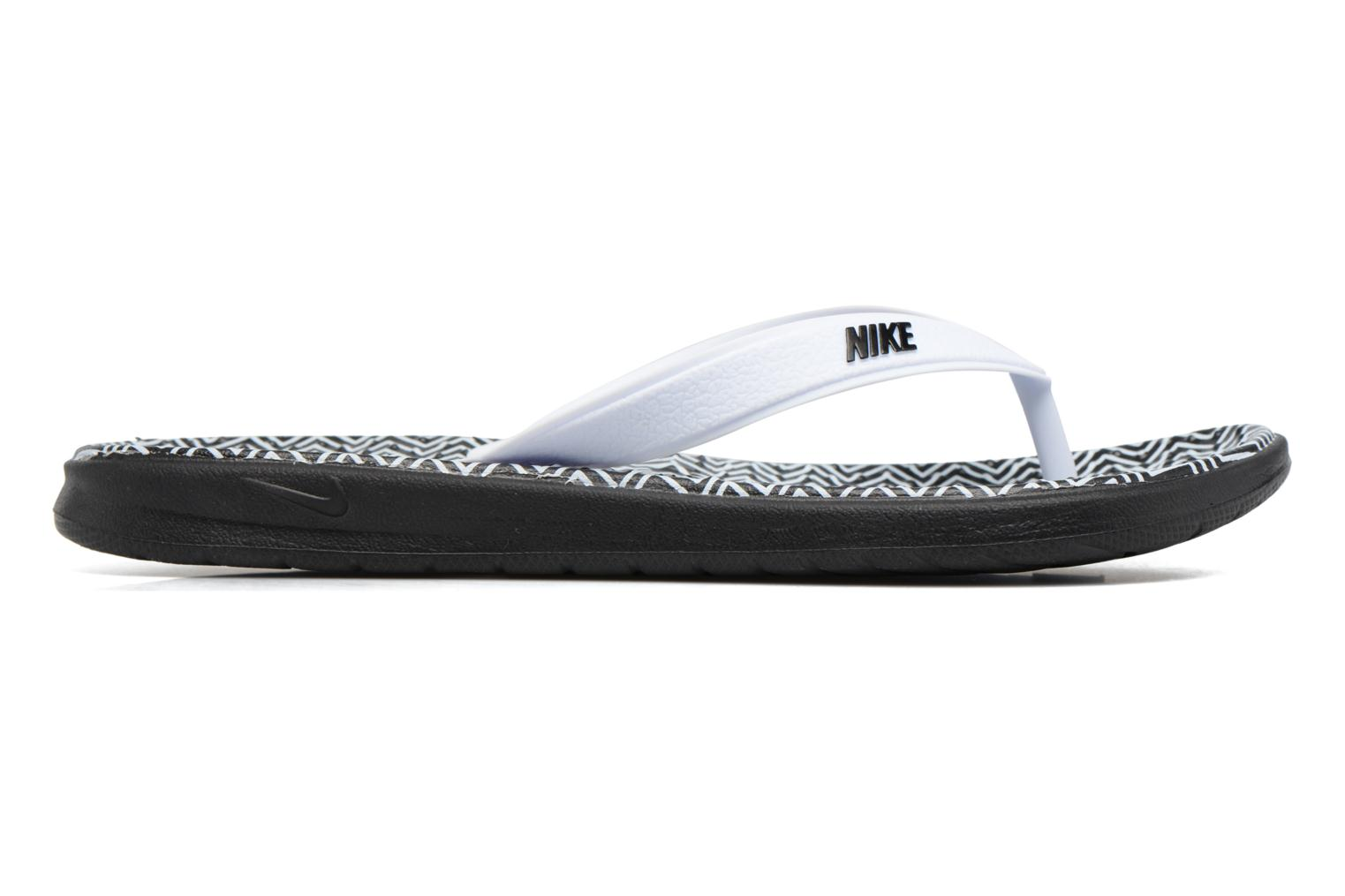 Flip flops Nike Nike Solay White back view
