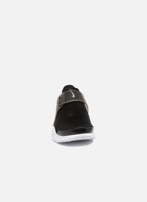 Baskets Nike Wmns Solay Thong Print Noir vue portées chaussures