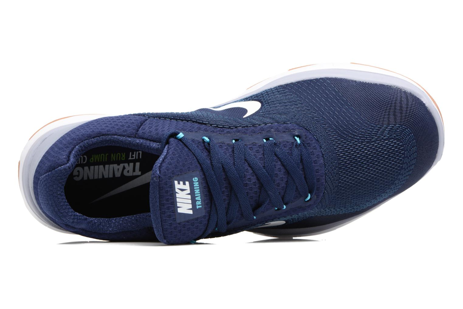 Sport shoes Nike Nike Free Trainer V7 Blue view from the left