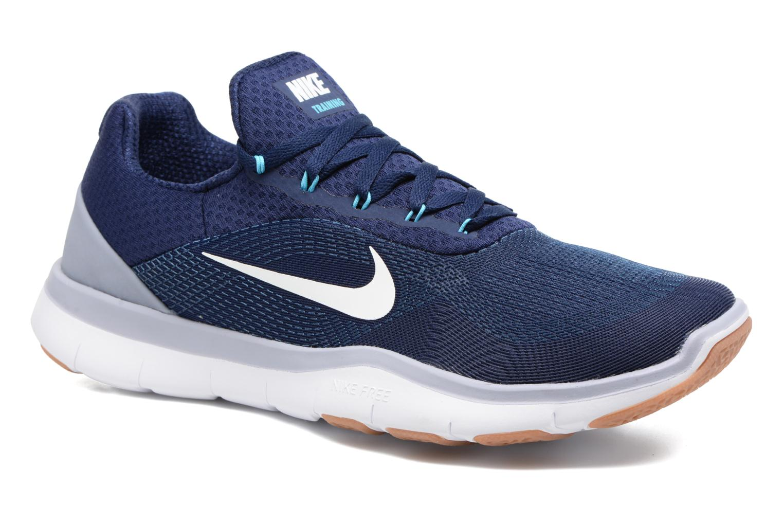 Chaussures de sport Nike Nike Free Trainer V7 Bleu vue détail/paire