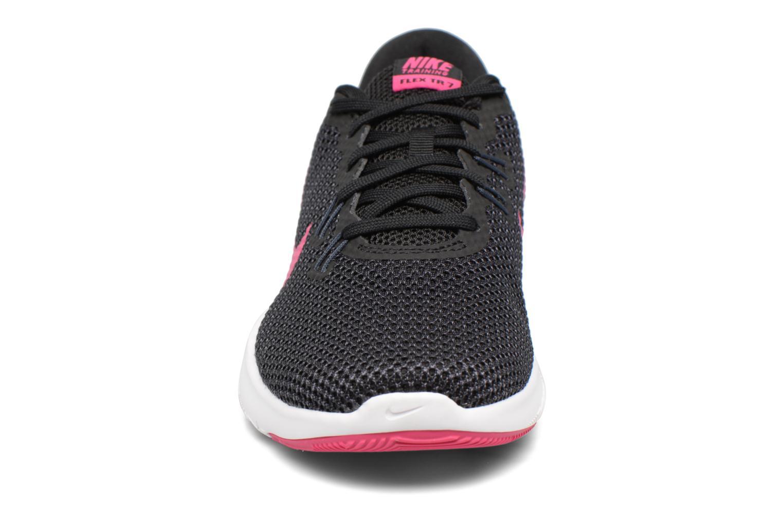 Chaussures de sport Nike W Nike Flex Trainer 7 Rose vue portées chaussures