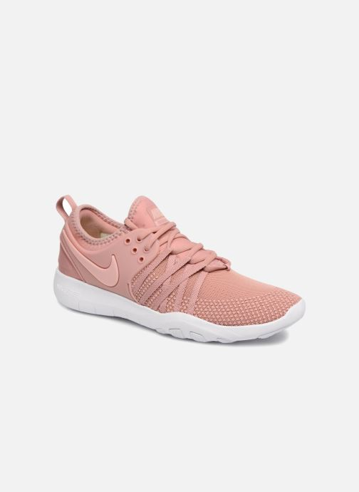 sports shoes cfdcf 1dc74 Chaussures de sport Nike Wmns Nike Free Tr 7 Rose vue détail paire