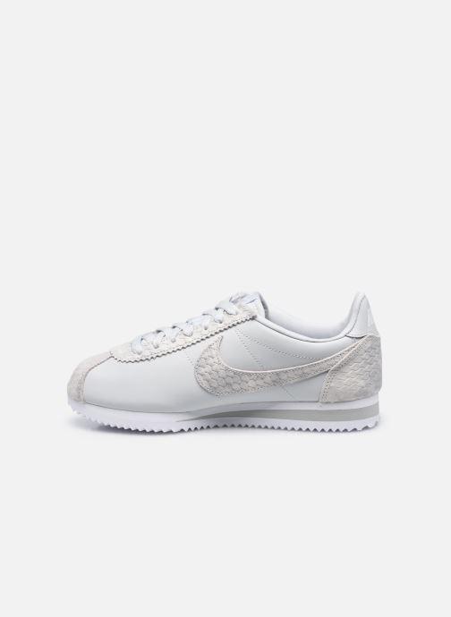Sneaker Nike Wmns Classic Cortez Prem beige ansicht von vorne
