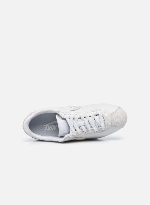 Sneaker Nike Wmns Classic Cortez Prem beige ansicht von links
