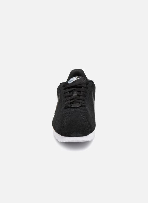 Sneaker Nike Wmns Classic Cortez Prem schwarz schuhe getragen