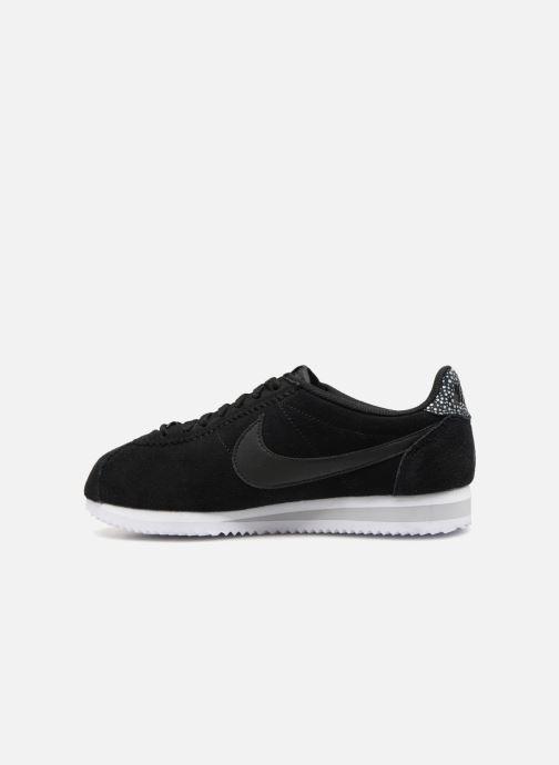 Sneaker Nike Wmns Classic Cortez Prem schwarz ansicht von vorne