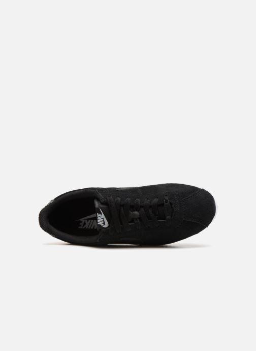 Sneaker Nike Wmns Classic Cortez Prem schwarz ansicht von links