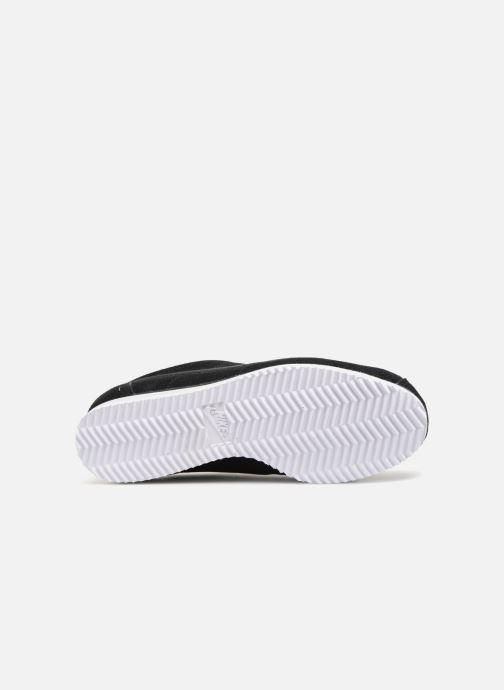 Sneaker Nike Wmns Classic Cortez Prem schwarz ansicht von oben