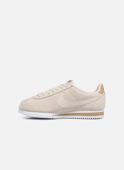 Sneaker Nike Wmns Classic Cortez Prem grau ansicht von vorne