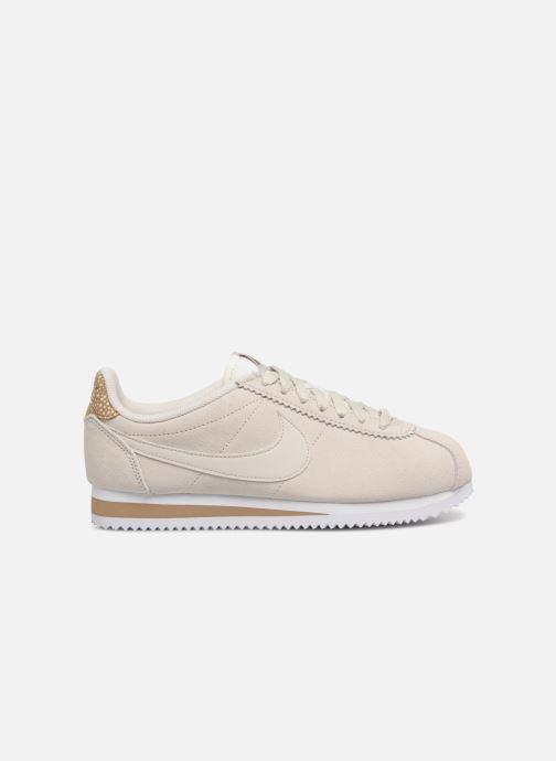 Sneaker Nike Wmns Classic Cortez Prem grau ansicht von hinten