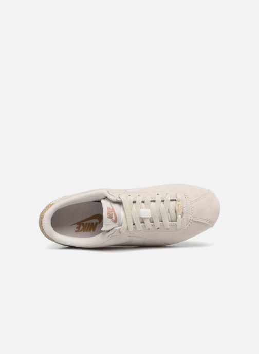 Sneaker Nike Wmns Classic Cortez Prem grau ansicht von links