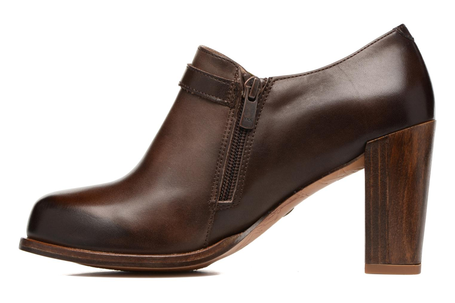 Ankle boots Neosens Gloria S178 Brown front view