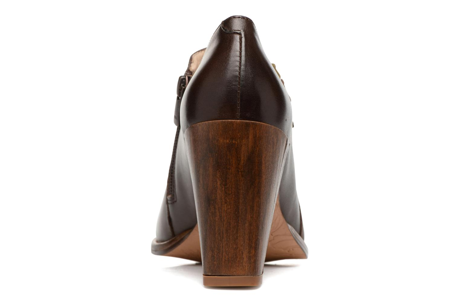Ankle boots Neosens Gloria S178 Brown view from the right