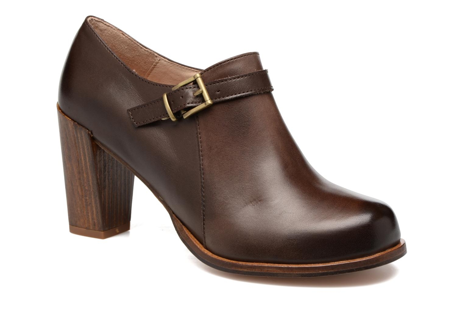 Ankle boots Neosens Gloria S178 Brown detailed view/ Pair view
