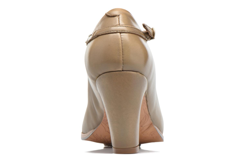 Zapatos de tacón Neosens Altesse S467 Beige vista lateral derecha