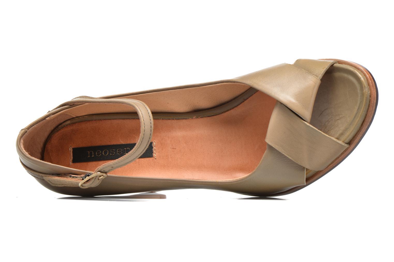 Zapatos de tacón Neosens Altesse S467 Beige vista lateral izquierda