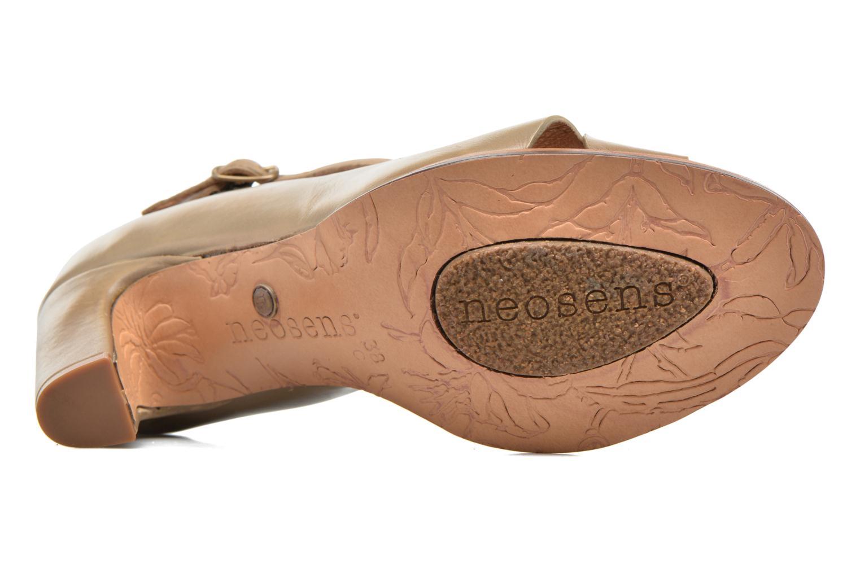 Zapatos de tacón Neosens Altesse S467 Beige vista de arriba