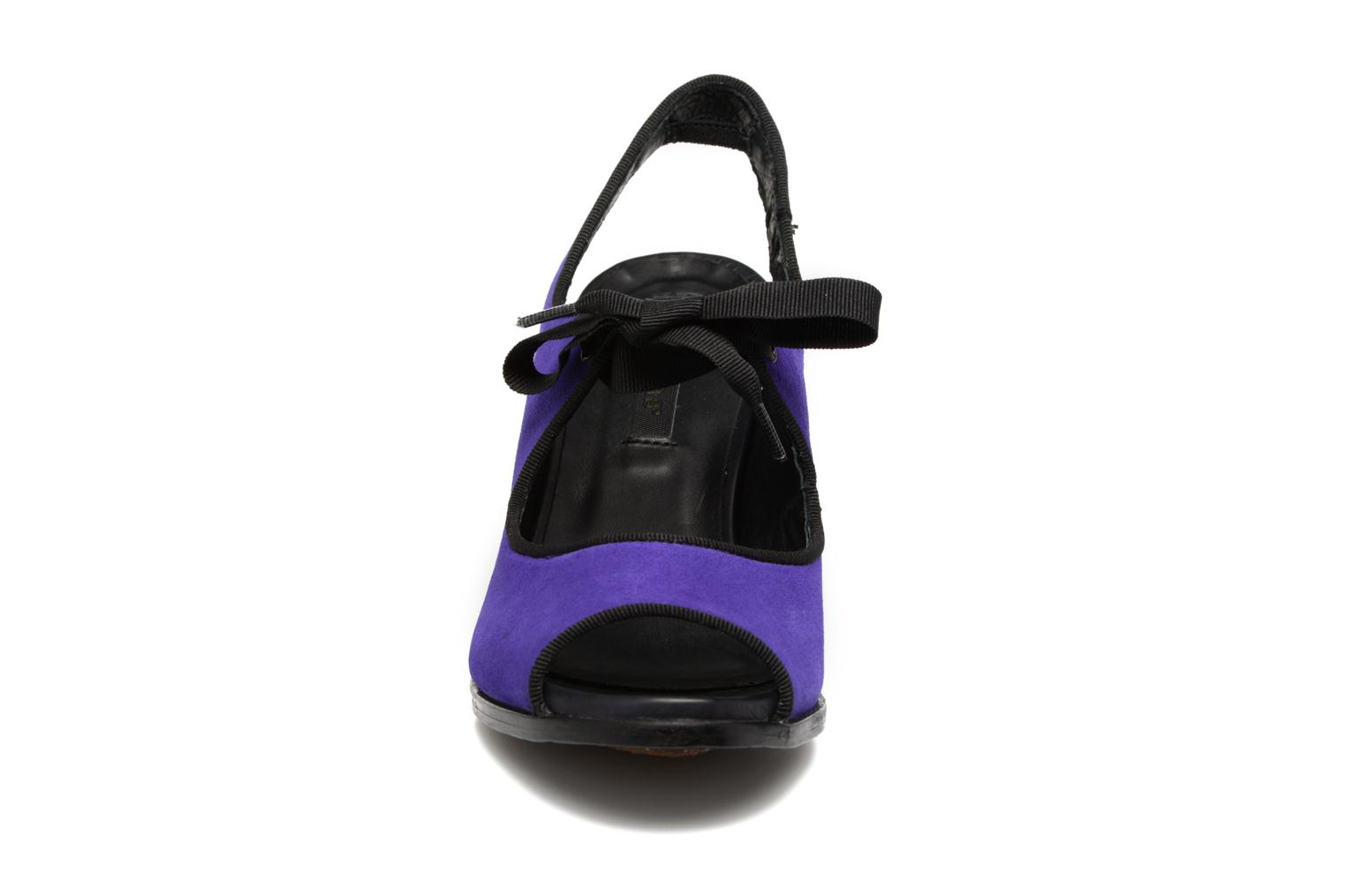 High heels Neosens Altesse S468 Purple model view