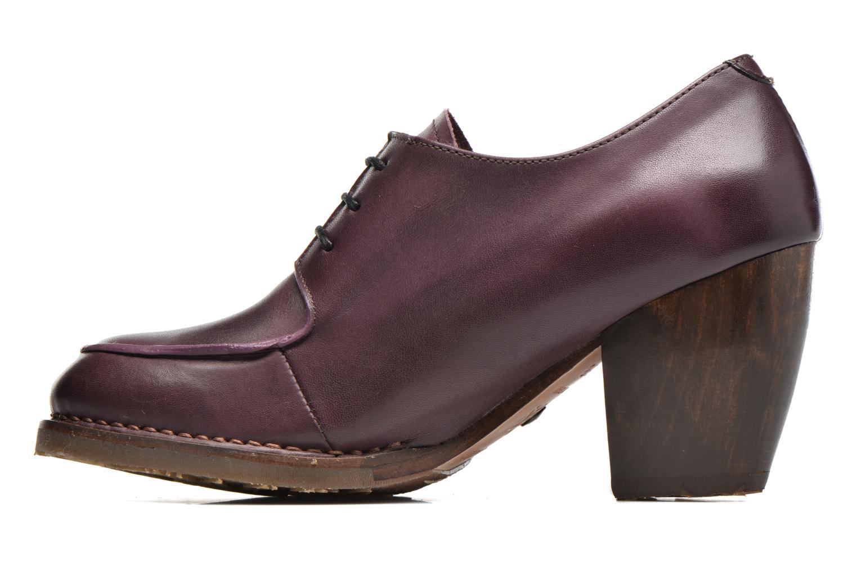 Lace-up shoes Neosens Verdil S516 Purple front view