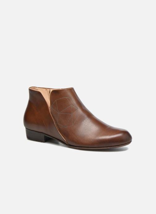 Bottines et boots Neosens Sultana S545 Marron vue détail/paire