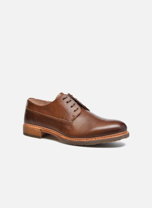 Chaussures à lacets Neosens Ferron S887 Marron vue détail/paire