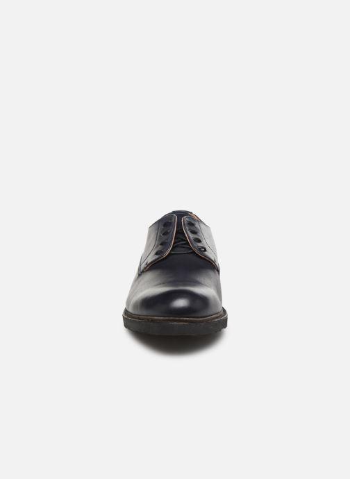 Zapatos con cordones Neosens Ferron S887 Azul vista del modelo