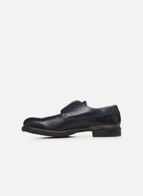 Zapatos con cordones Neosens Ferron S887 Azul vista de frente