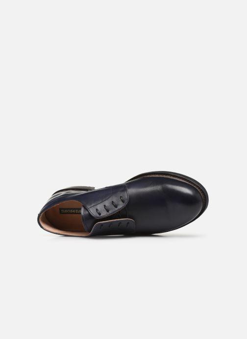 Zapatos con cordones Neosens Ferron S887 Azul vista lateral izquierda