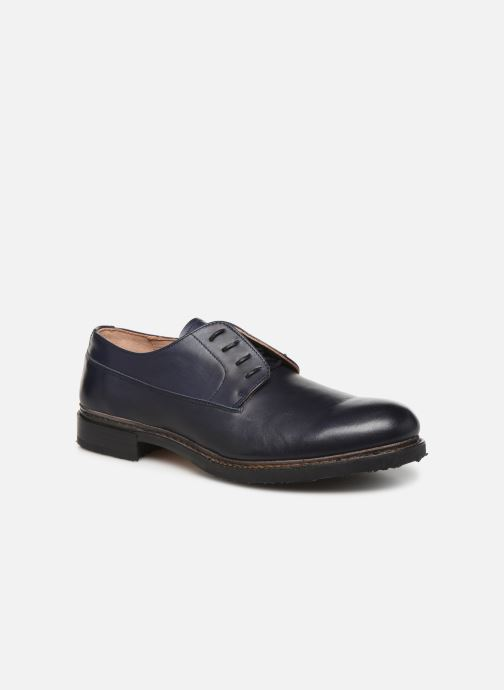 Zapatos con cordones Neosens Ferron S887 Azul vista de detalle / par