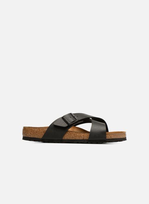 Sandales et nu-pieds Birkenstock Tunis Flor Men Noir vue derrière
