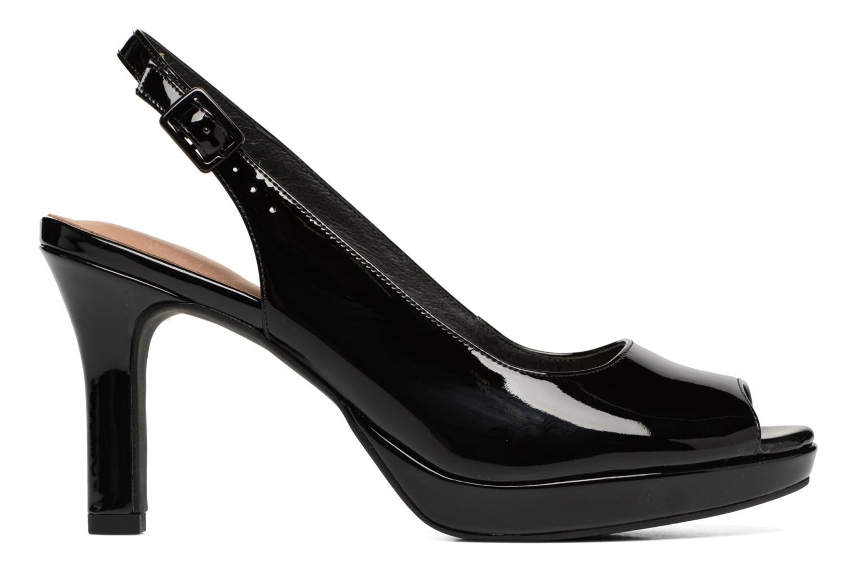 Sandali e scarpe aperte Clarks Mayra Blossom Nero immagine posteriore