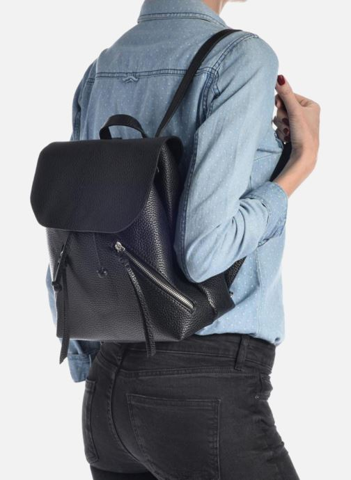 Sacs à dos Pieces Billie Backpack Noir vue bas / vue portée sac