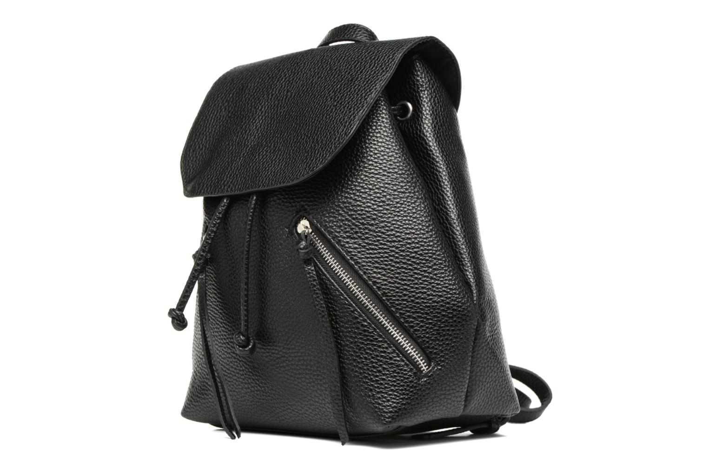 Zaini Pieces Billie Backpack Nero modello indossato