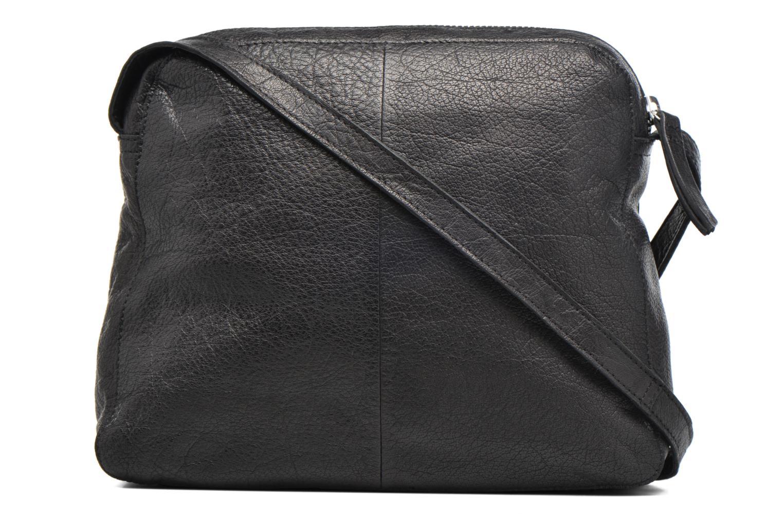 Sacs pochettes Pieces Dacil Leather Cross Over Bag Exp Noir vue face