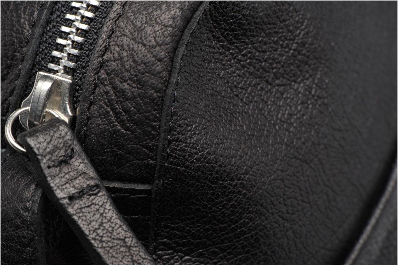 Sacs pochettes Pieces Dacil Leather Cross Over Bag Exp Noir vue gauche
