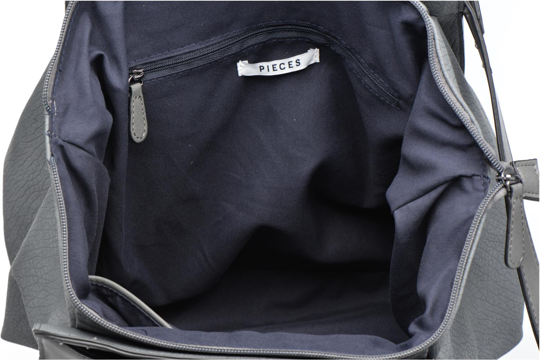 Handtassen Pieces Ladada Bag Blauw achterkant