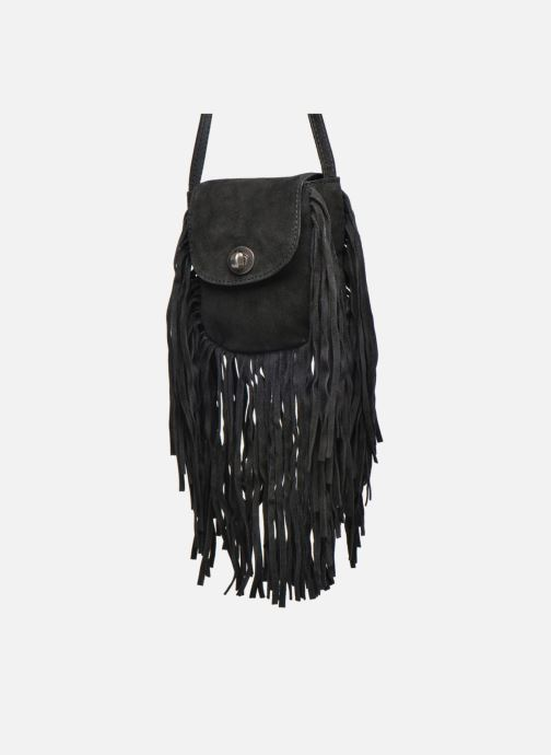 Clutch Pieces Pusle Suede Cross Body Bag Zwart model