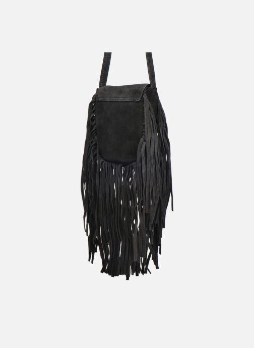 Sacs pochettes Pieces Pusle Suede Cross Body Bag Noir vue droite