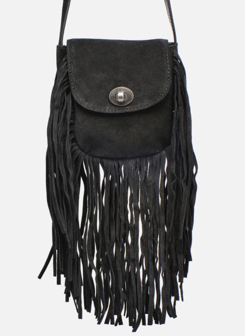 Sacs à main Pieces Pusle Suede Cross Body Bag Noir vue détail/paire