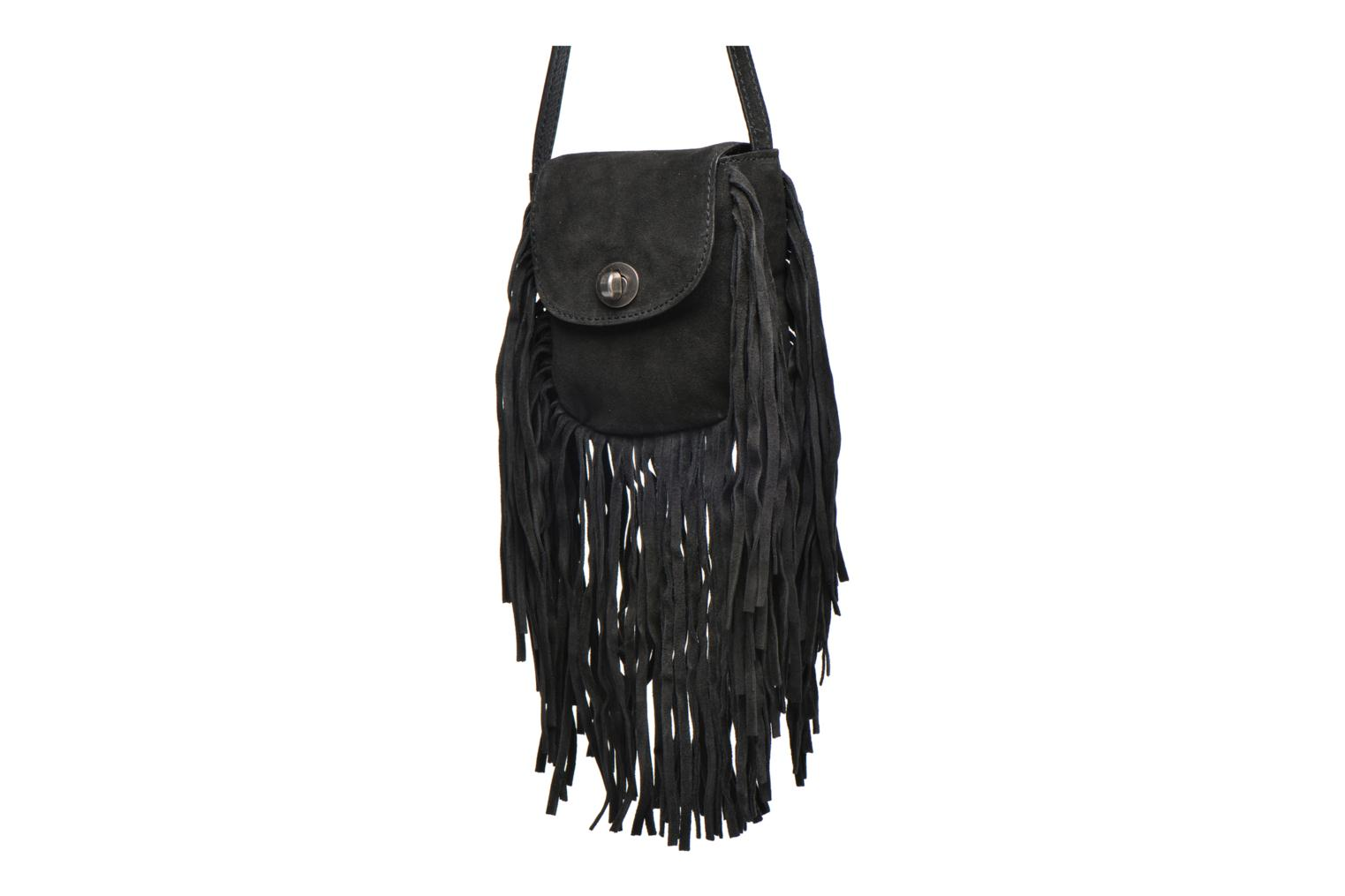 Bag Pusle Suede Cross Body Black Pieces wfPaSqWFxP