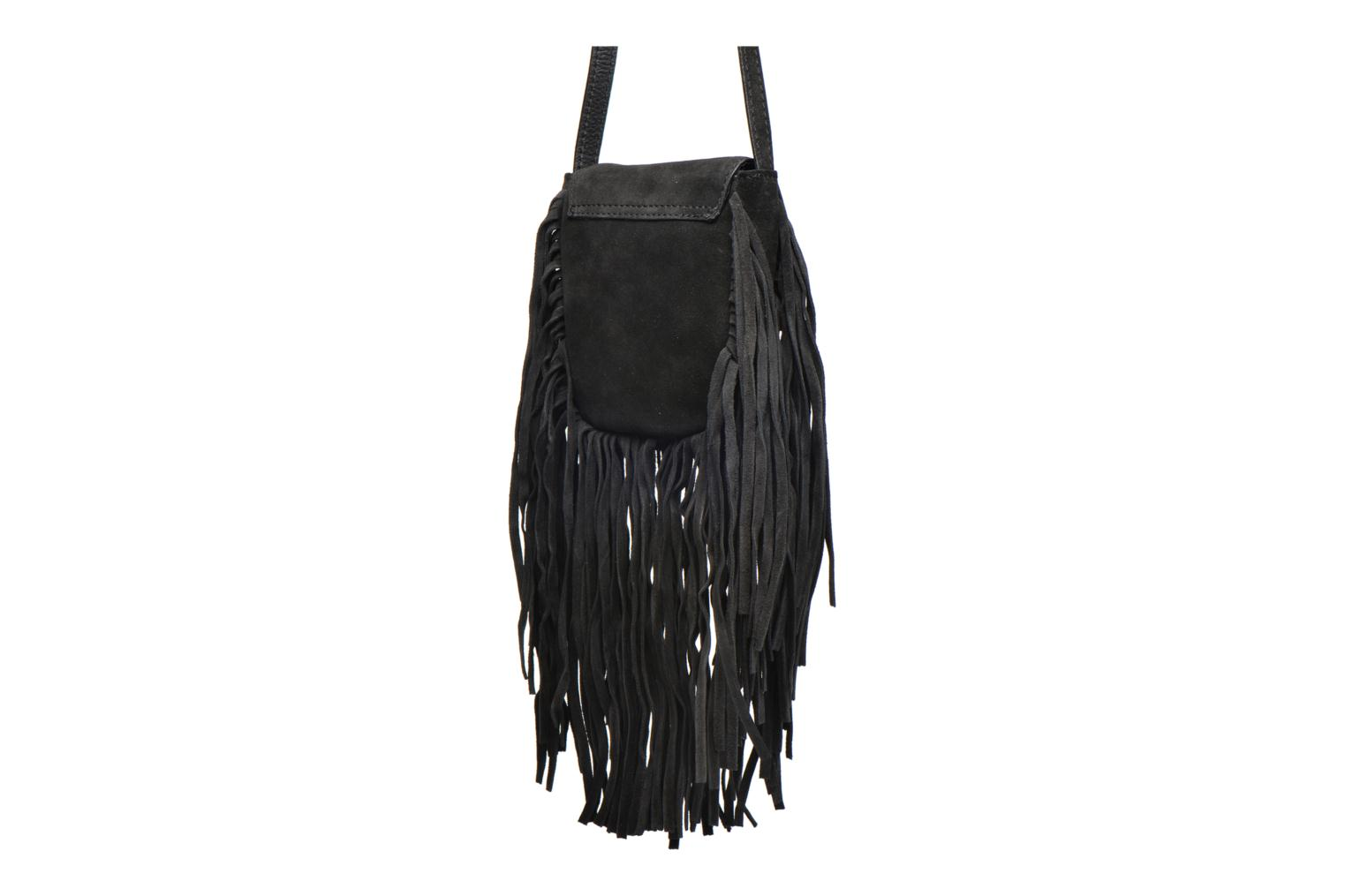 Cross Pusle Black Pieces Suede Bag Body qERdB6Ox